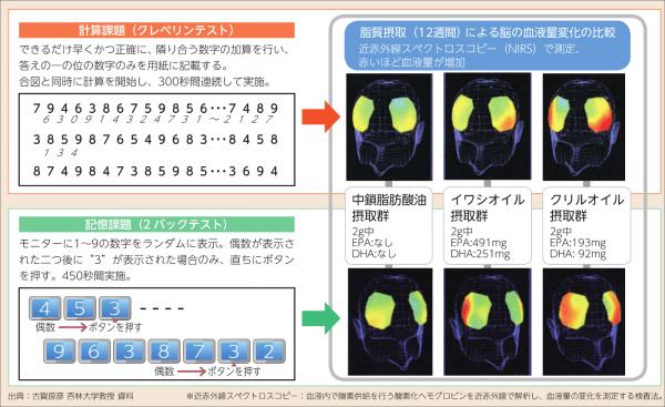 クリルオイルの効果・効能 脳血管性認知症の改善が期待できる